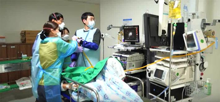 방사형 기관지 초음파 내시경